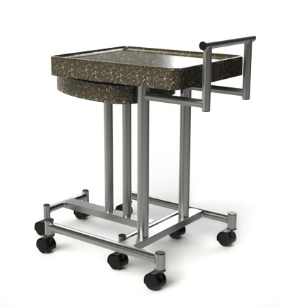 Casino Poker Room Beverage Carts, Custom Granite Beverage Carts from Rye Park Gaming - Casino Gaming Supply Company