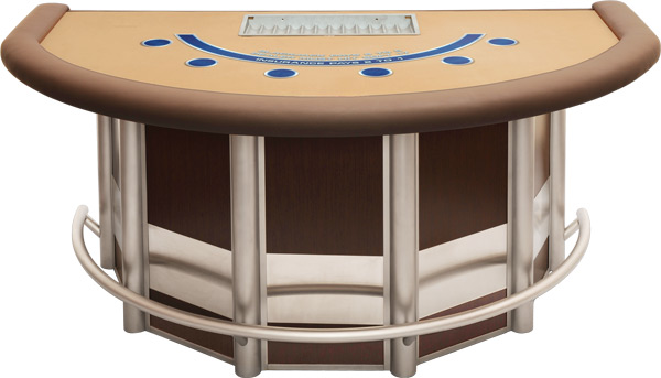 Custom Blackjack Table from Rye Park Gaming - Casino Gaming Supply Company