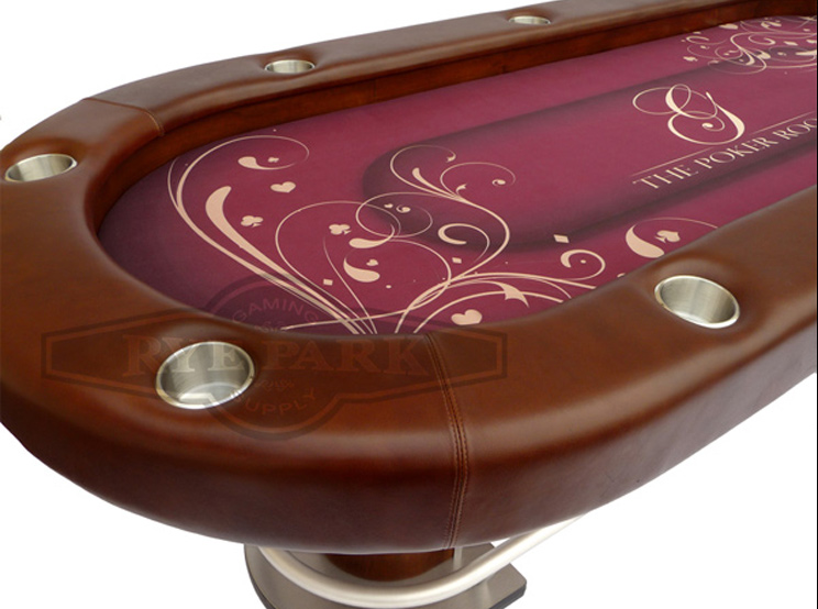 Custom Feature Poker Table 108 Quot X 45 Quot Rye Park Poker
