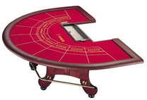 Used Baccarat Table, Used Casino Gaming Table 3.1